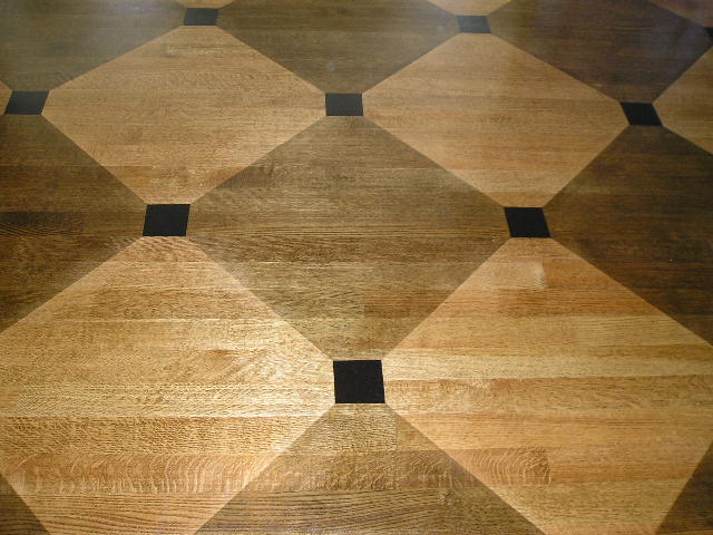 Painted Wood Floors Faux Painted Parquetrt Marquetry